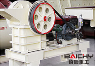 China Mobile Impact crusher and screening plant